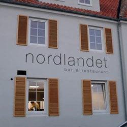 Facaden på det nye hotel Nordlandet i Sandvig