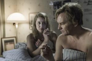 Kollektivet Erik og Anna i sengen