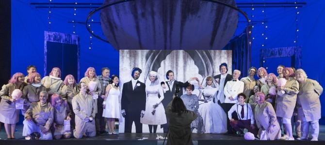Sjov og lidt pjattet Figaros Bryllup på Gamle Scene.