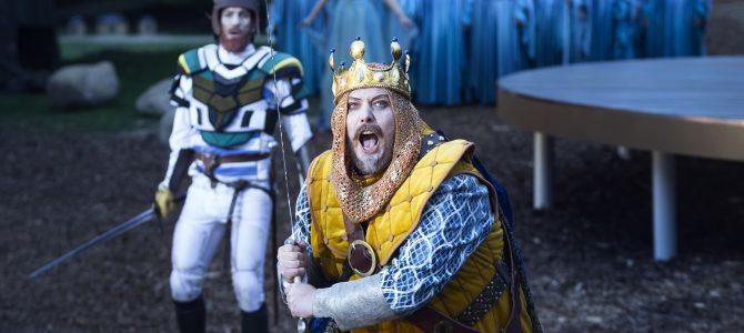 Kong Arthur i Dyrehaven.
