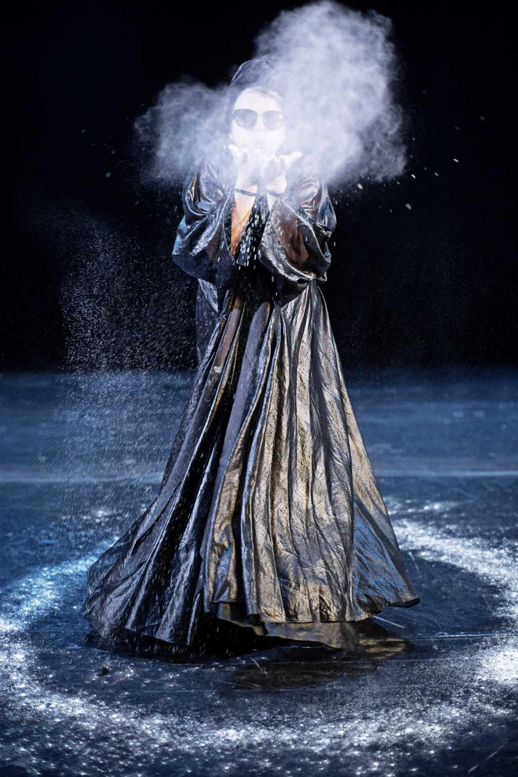 Beethoven. Lotte Andersen. Bellevue Teatret. Foto: Isak Hoffmeyer.