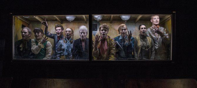 Ødipus og Antigone på Det Kongelige Teater.