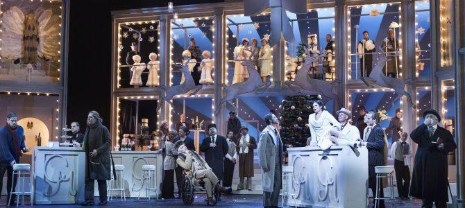 La Boheme – på Operaen.