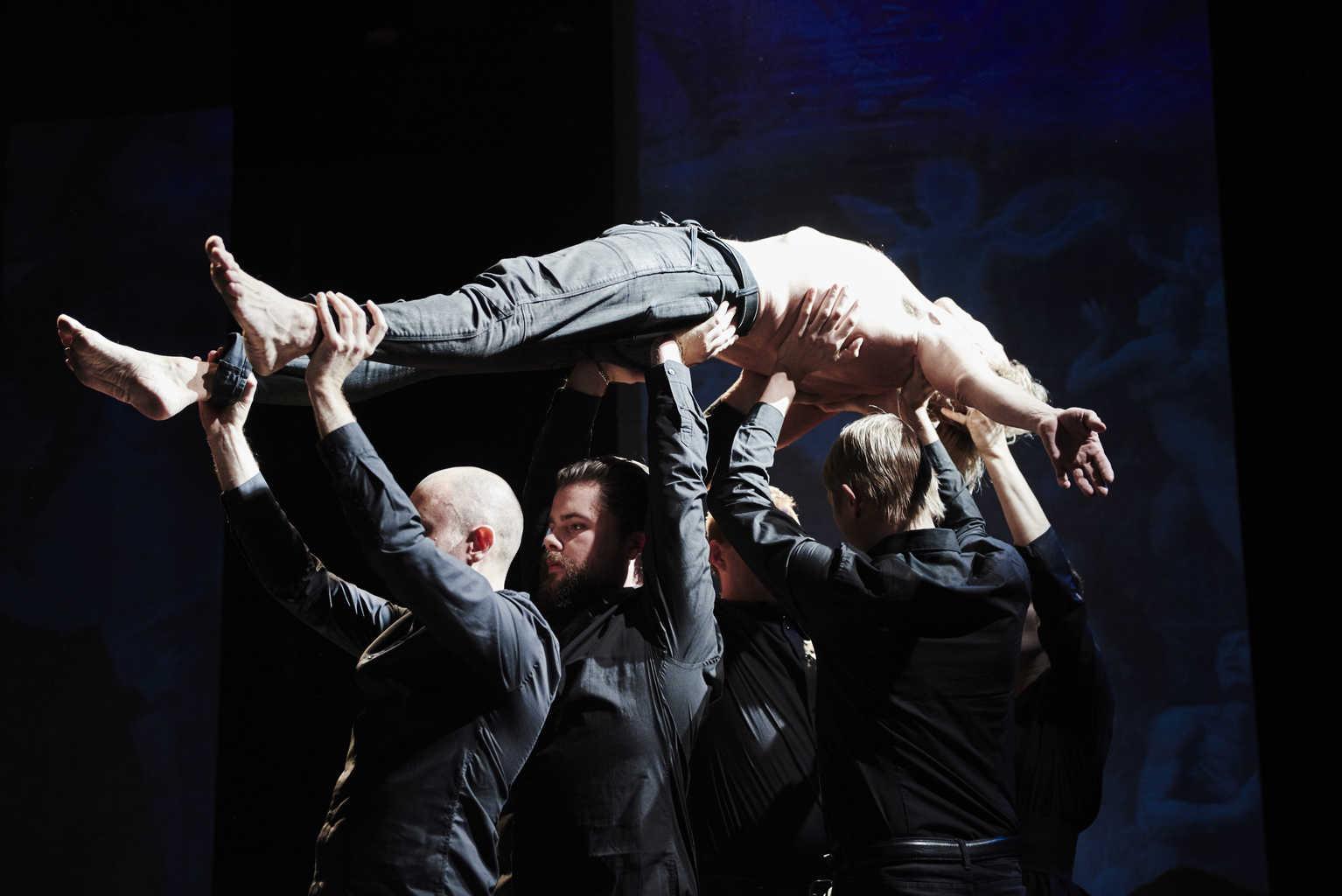 Gesualdo shadows. Opera af Bo Holten. Pressebillede.
