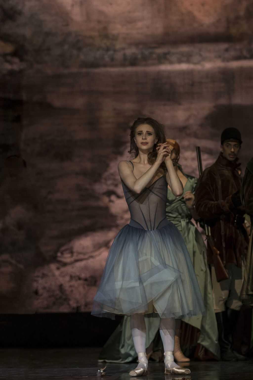 Giselle. Det Kongelige Teater. Ida Praetorius. Foto Costin Radu.