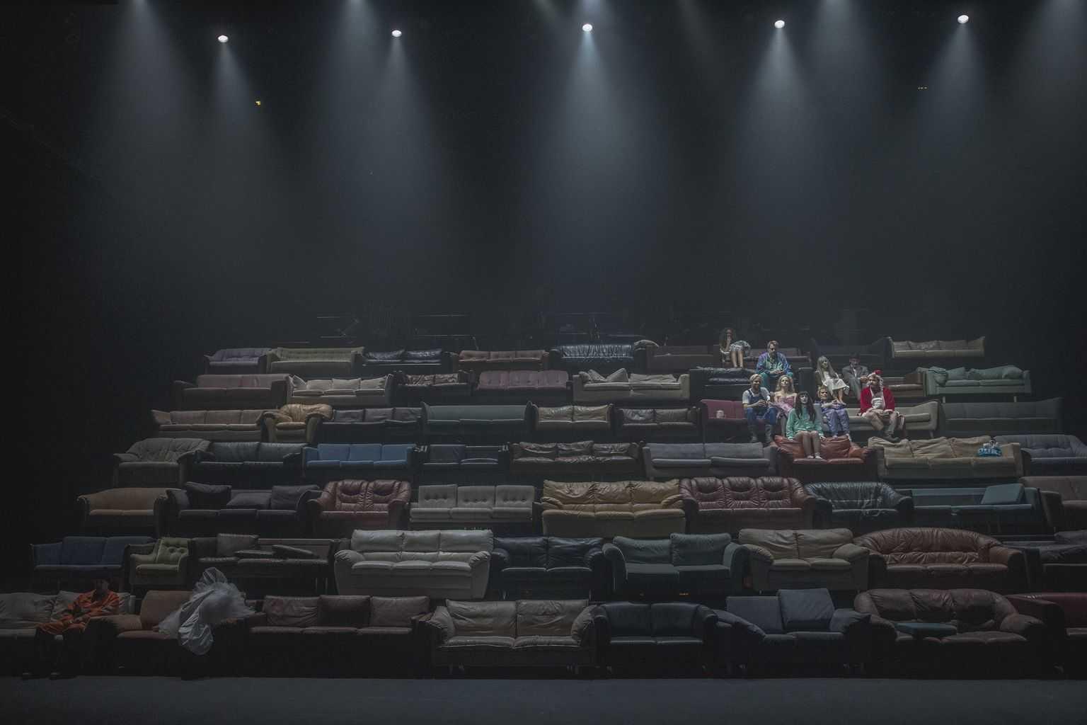 Højskolesangbogen. Det Kongelige Teater. Fotos: Natascha Rydvald.