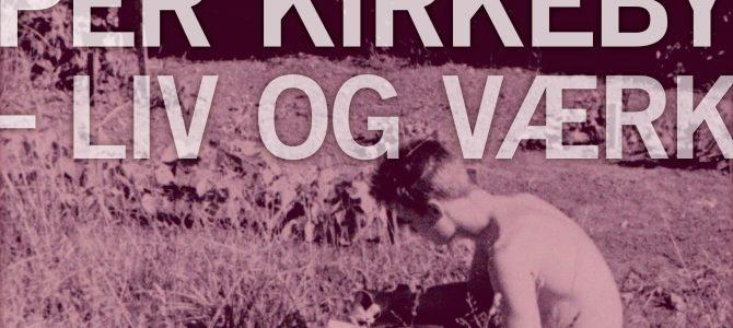 At trække en streg – ny  bog om Per Kirkeby.