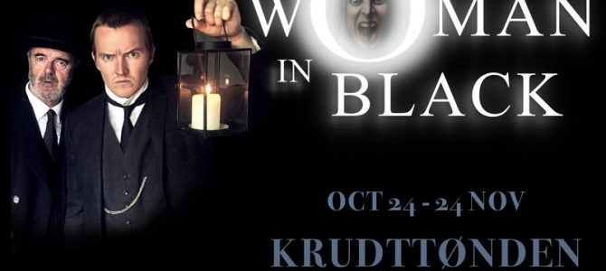 The woman in black.  That Theatre. Østerbro.
