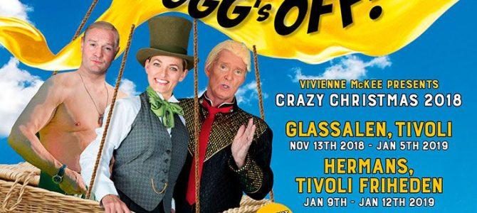 Fogg's off. Crazy Christmas 2018. Tivoli.