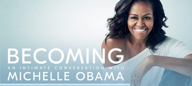 Min historie. Erindringsbog af Michelle Obama.