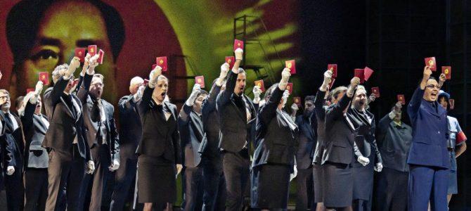 Nixon in China. Moderne opera på Det Kongelige Teater.