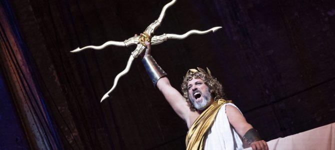 Sigurd fortæller om de græske guder på Østre Gasværk.