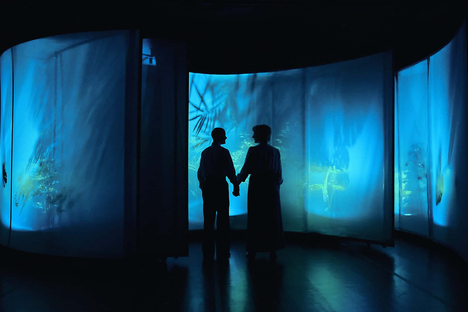 Jagten på det gode menneske – om Karin Michaëlis – på Baggaardteatret.