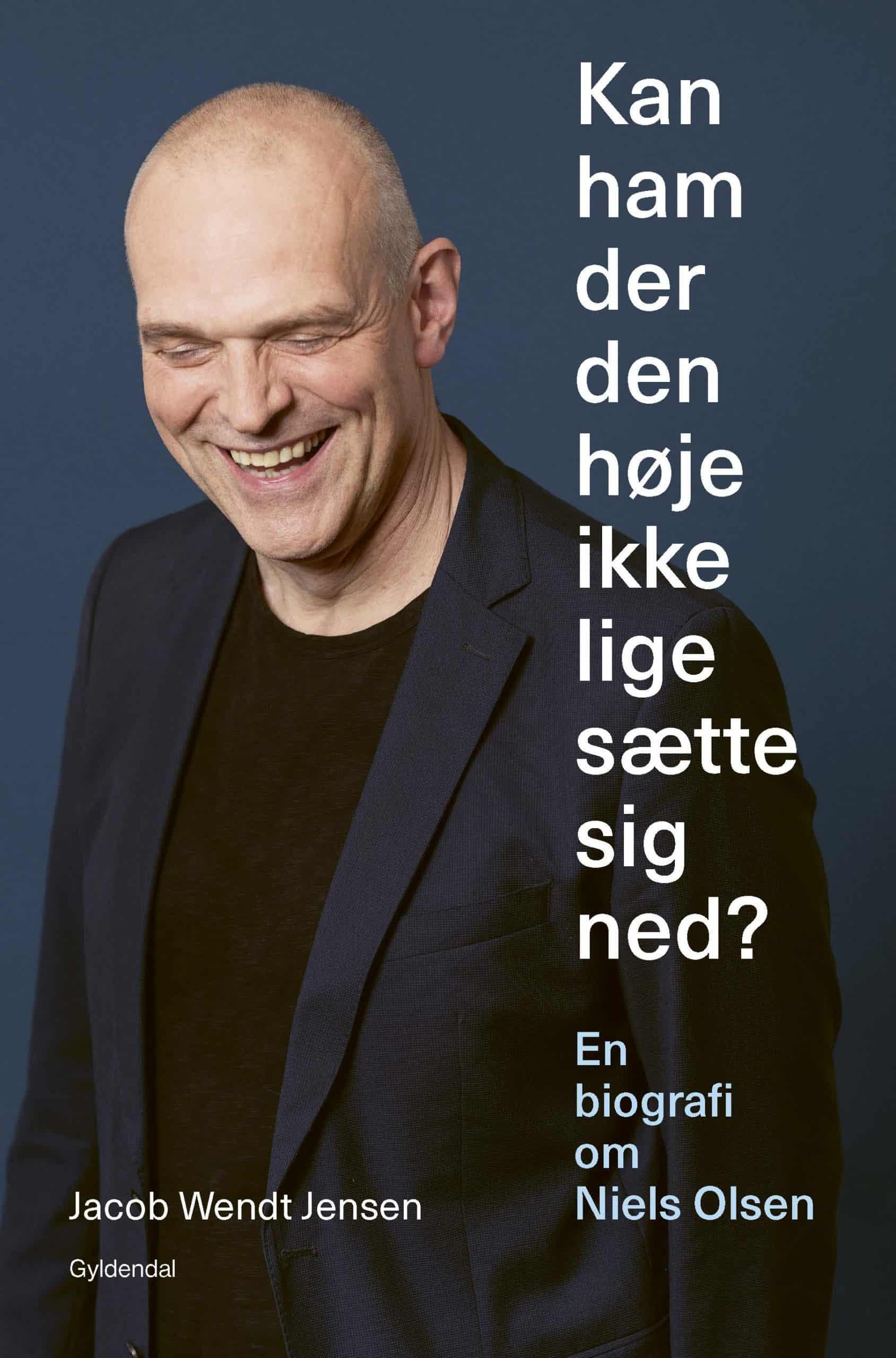 Skuespilleren Niels Olsen portrætteres i ny bog.