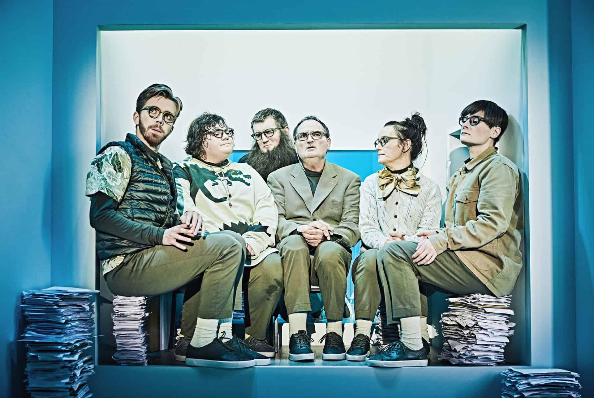 Livstidsgæsterne på Betty Nansen Teatret.