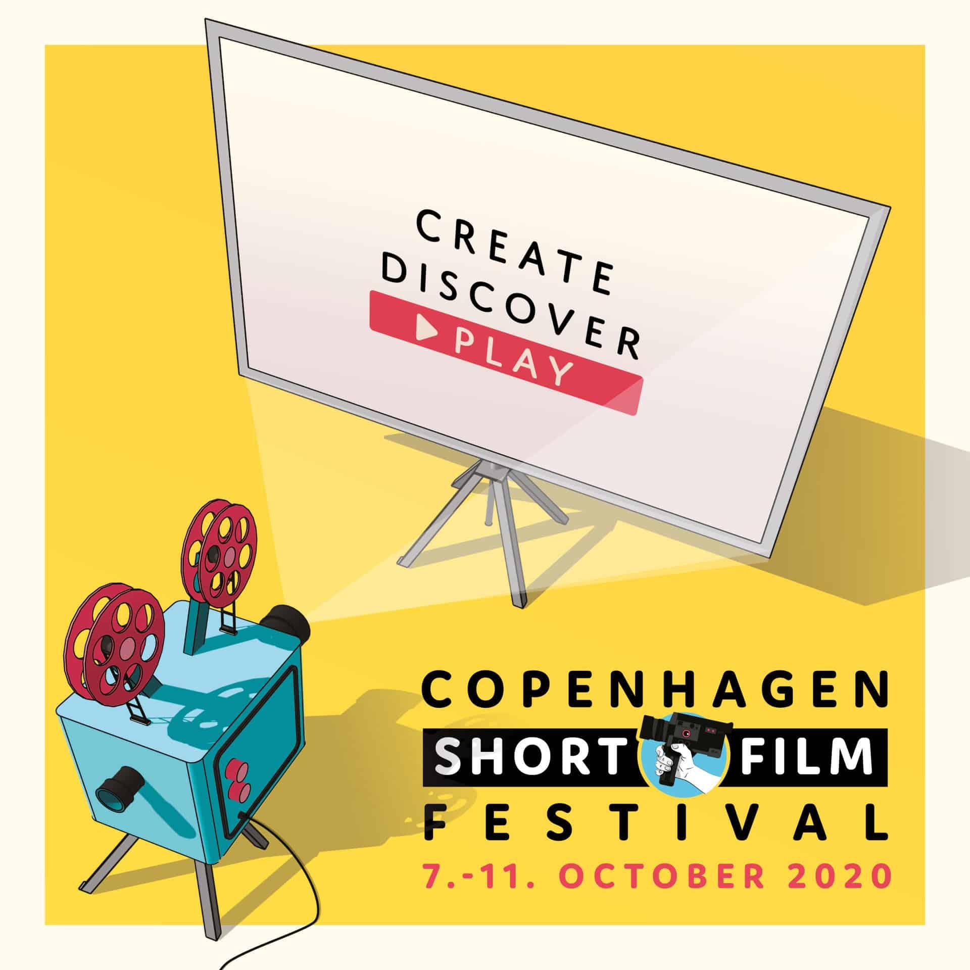 Copenhagen Short Film Festival 7.-11. oktober 2020.