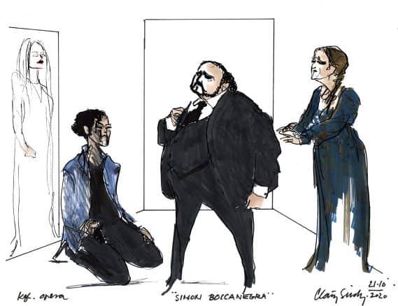 Simon Boccanegra på Det Kongelige Teater.