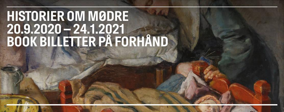 Historier om Mødre på Nivaagaards Malerisamling.