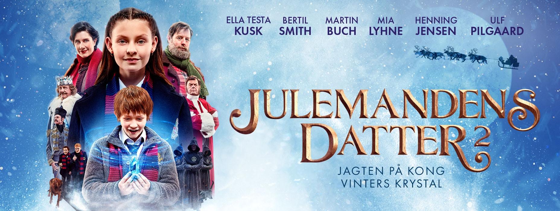 JULEMANDENS DATTER 2 – Jagten på Kong Vinters Krystal
