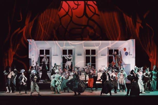 Operaen Maskarade på Det Kongelige Teater. Repremiere.