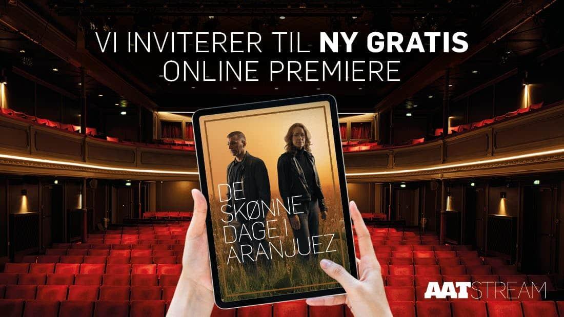 Hallo, Aalborg Teater kalder. Ny live streaming igen i aften.
