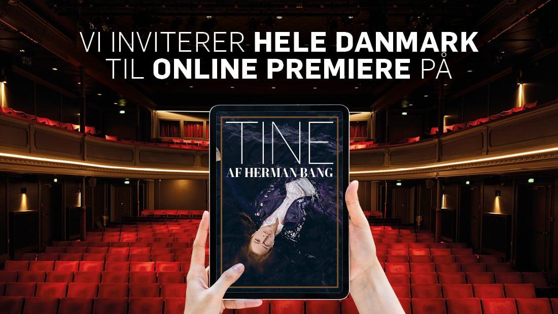 Gå i Aalborg Teater lørdag kl 19 – live streamet premiere.