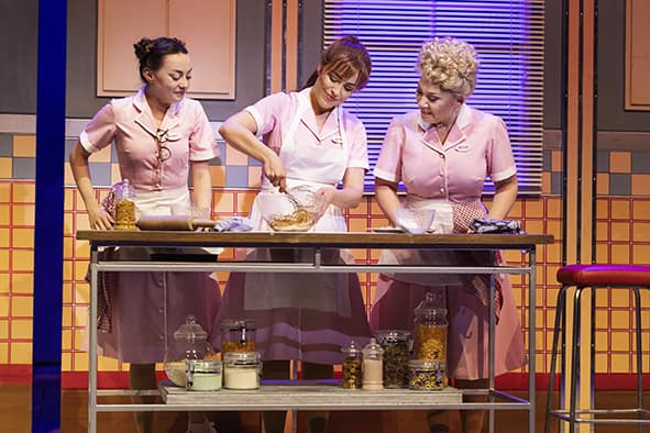 Waitress på Det Ny Teater.