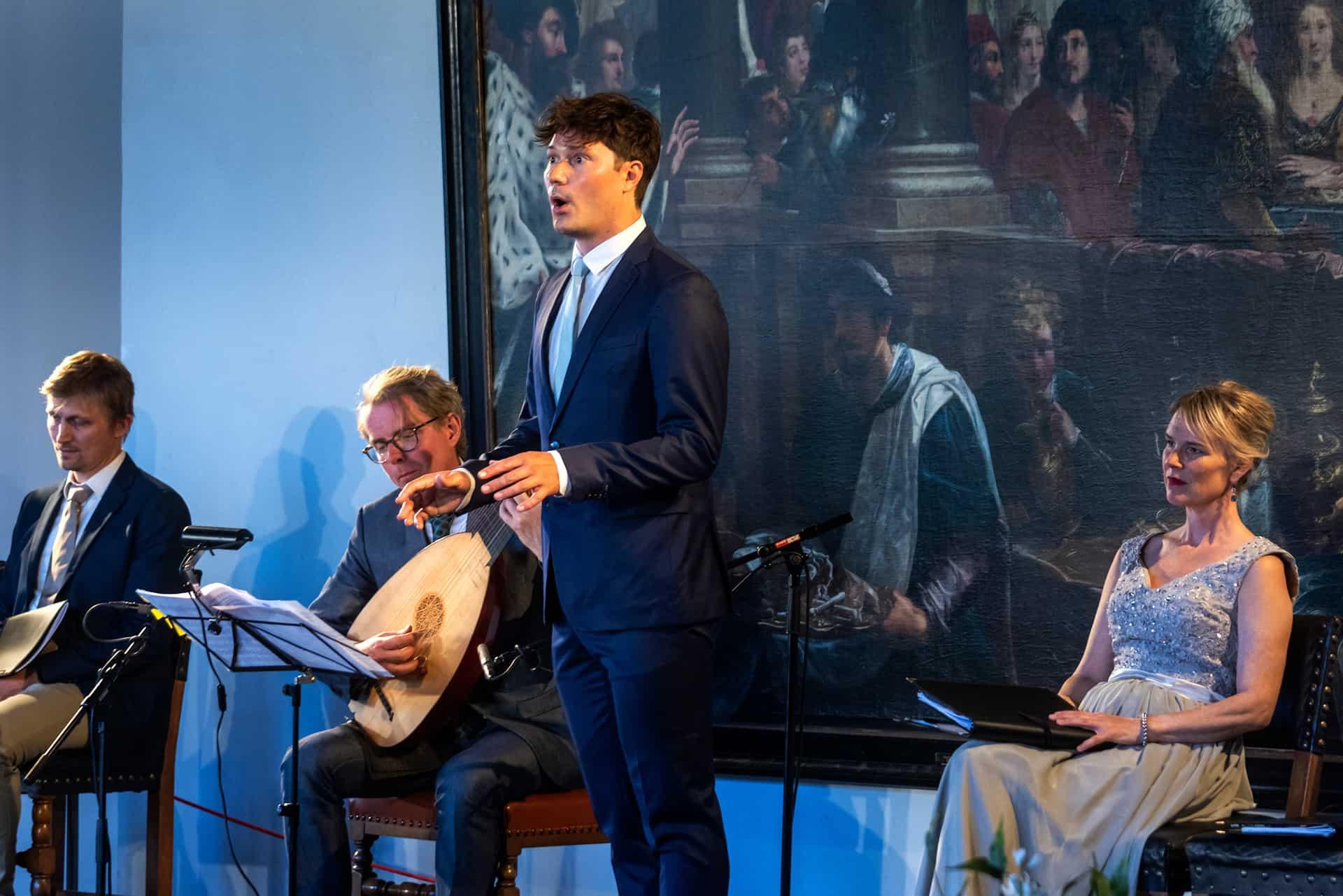 En smuk aften på Kronborg i selskab med Musica Ficta og John Dowland.