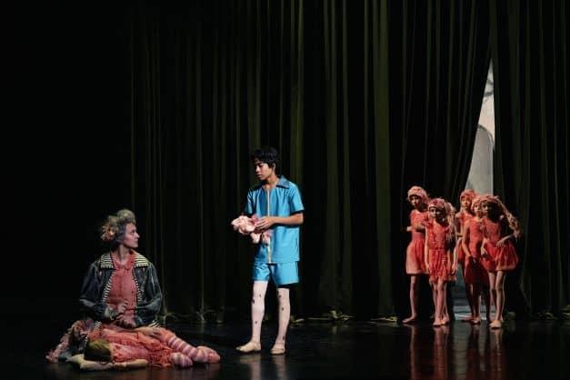 Børneballetten Dansefeber på Gamle Scene.