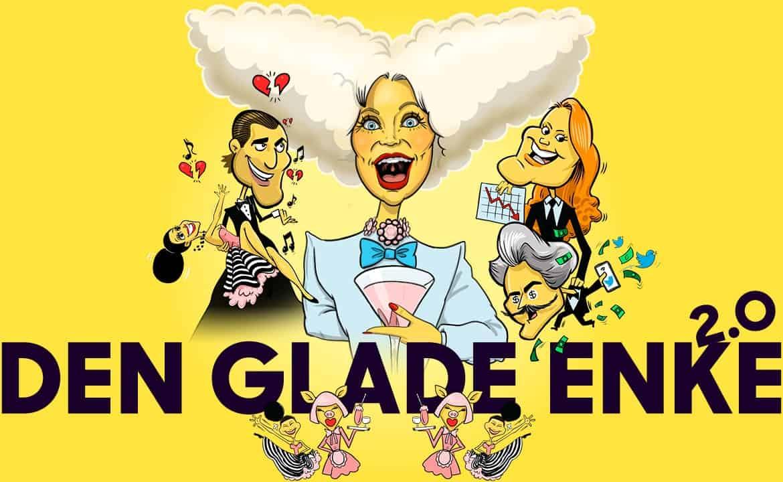 Den Glade Enke, 2.0 på Operaen, Det Kongelige Teater.