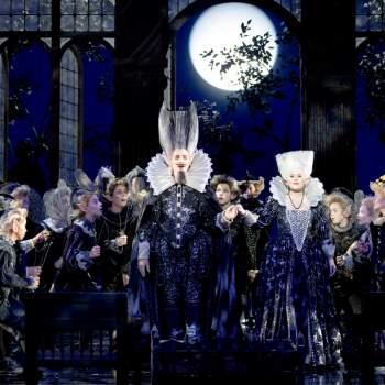 En Midsommernattsdröm af Britten på Malmö Opera.
