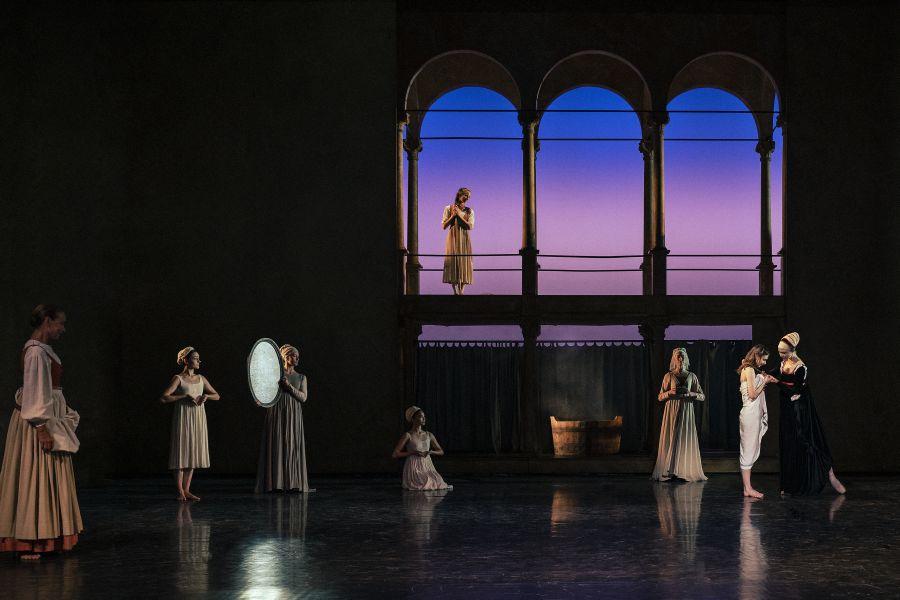 Dejligt gensyn med Romeo og Julie hos balletten på Det Kongelige Teater.